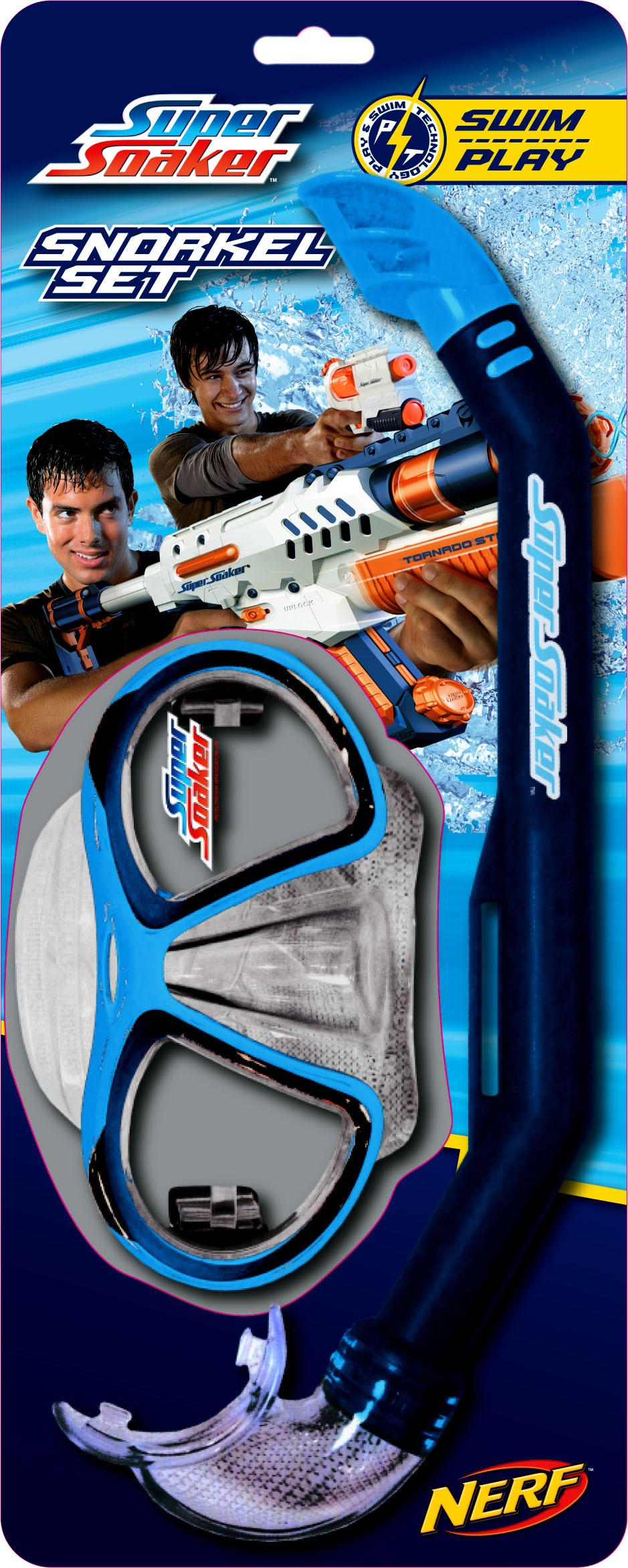 Super Soaker Snorkel Set
