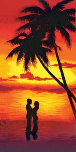 A Couple at Sunset