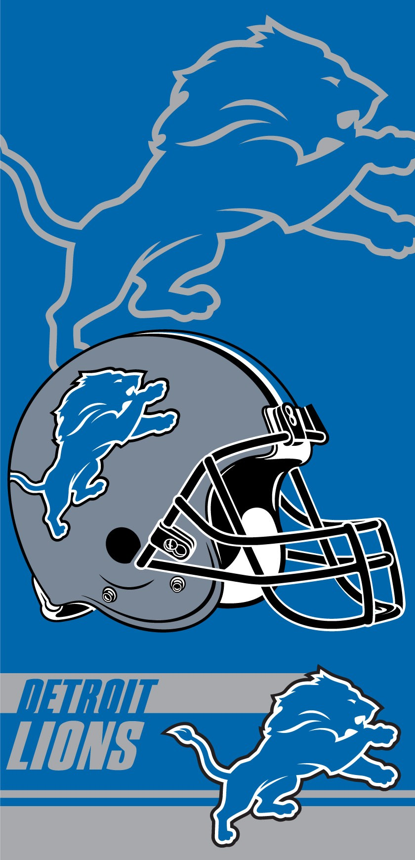 Detroit Lions Double Covered