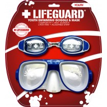 Youth Lifeguard Mask & Goggle Combo