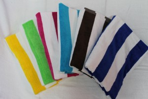 Cabana Velour Plain Towel (30x60 12 Lbs)