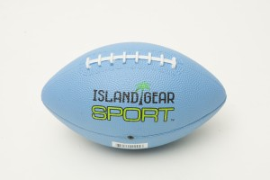 Small Rubber Football Assorted Colors