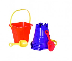 "10.5"" Castle Pail & Shovel"